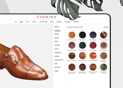 Carmina Shoemaker 3D Customizer